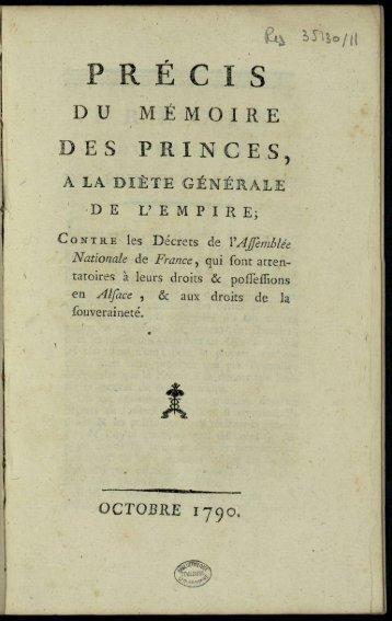 DES PRINCES,