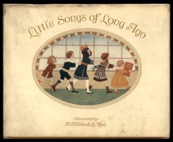 Little Songs of Long Ago - Tim And Angi