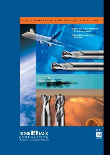2007 Outils pour usinage d'aluminium à grande performance ...