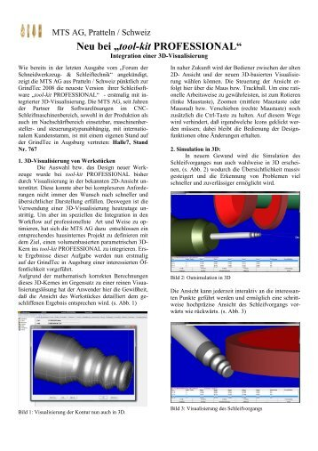 "Neu bei ""tool-kit PROFESSIONAL"" - MTS AG"