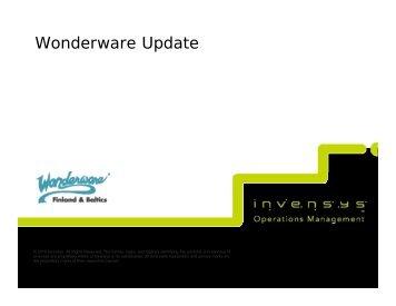 Wonderware Update - Klinkmann.