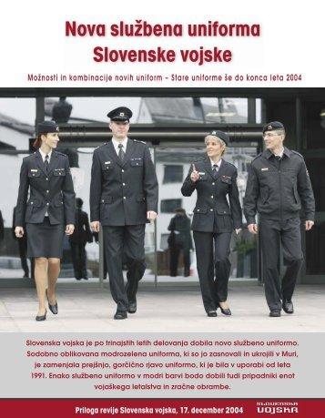 Službena uniforma SV