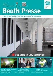 Neu: Standort Schwedenstraße - Beuth Hochschule für Technik Berlin