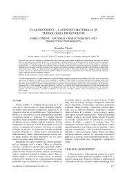 vlaknocement – lastnosti materiala in tehnologija proizvodnje - Esal