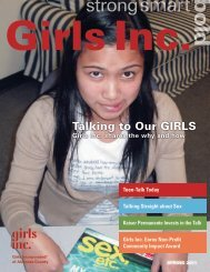 Spring 2011 Newsletter - Girls Inc. of Alameda County