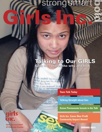 Spring 2011 Newsletter - Girls Inc. of Alameda County