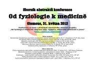 Sborník z konference - Veterinární a farmaceutická univerzita Brno