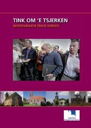 inventarisatierapport tink om e tsjerken - Provincie Fryslân