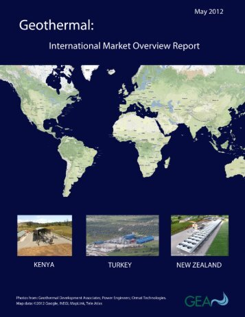 2012 International Market Overview Report - Geothermal Energy ...