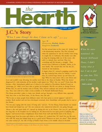 Jan 06 newsletter - Ronald McDonald House