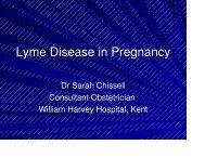 Lyme Disease in Pregnancy - Lyme Disease Action