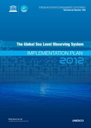 ImplementatIon plan - Global Sea Level Observing System