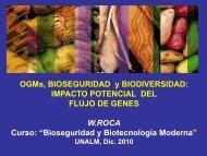 Flujo de genes - LAC Biosafety