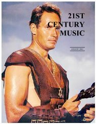 August - 21st Century Music