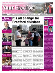 It's all change for Bradford divisions - West Yorkshire Police