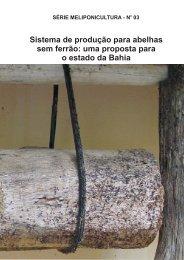 Sistema de produção para abelhas sem ferrão - INSECTA - Núcleo ...