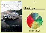 The Gazette - Oberoi Hotels