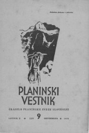 September - Planinski Vestnik