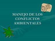 Manejo de Conflictos Ambientales - Condesan
