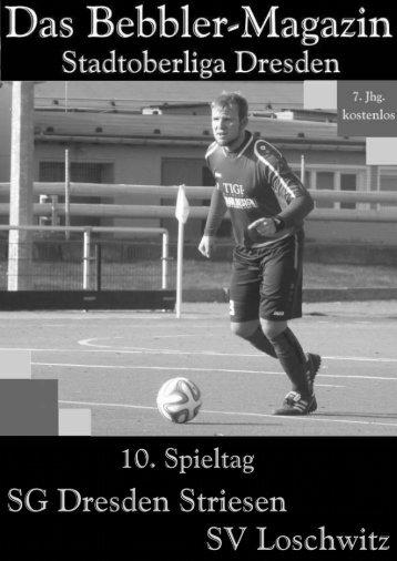 Das Bebbler-Magazin - 10. Spieltag 2014/2015