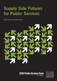 2020 Public Services Trust - Support