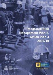 Integrated Risk Management Plan 2, Action Plan 3 2009/10