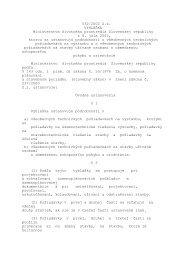 Vyhláška MŽP SR č. 532/2002 Z. z., ktorou sa upravujú podrobnosti ...