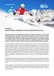 Ski amadé Najvede skijaško zadovoljstvo u Austriji na 860 ...