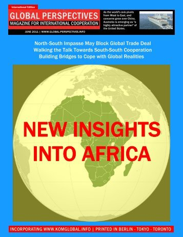 GLOBAL PERSPECTIVES | June 2011 - International Edition