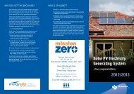 Solar PV Electricity Generating System 2012/2013 - SP AusNet