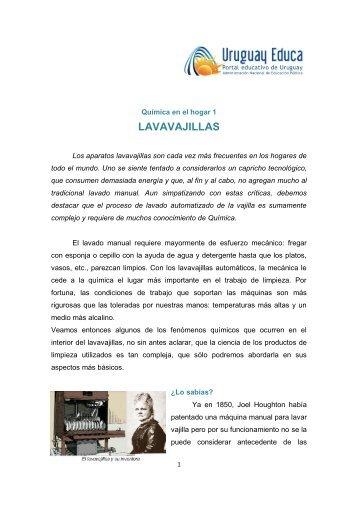 LAVAVAJILLAS - Uruguay Educa