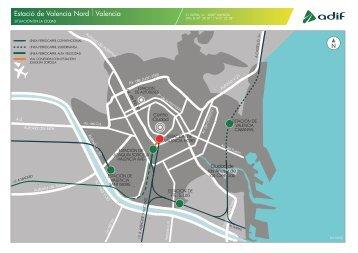 Planos de la estación - Adif