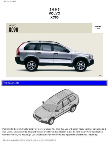2004 volvo xc90 repair manual