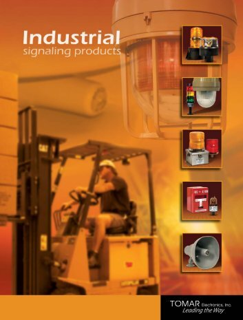 Tomar Industrial Catalog - SW Electric Supply Inc.