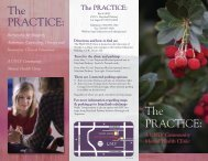 The PRACTICE - College of Education - University of Nevada, Las ...