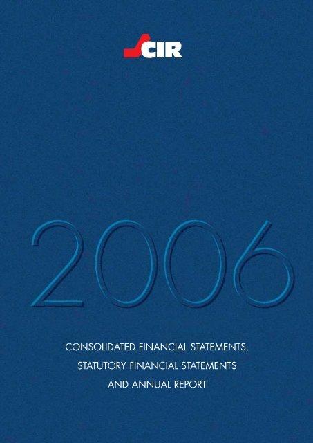 2006 Annual Report PDF File - Cir
