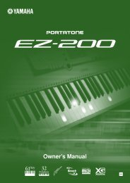 EZ-200 Owner's Manual - Saint Martin's University