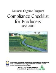 Compliance Checklist for Producers - Crop, Soil, and Environmental ...