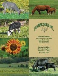 Turner Seed Inc. - AgriCharts