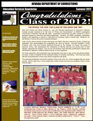 Education Services Summer Newsletter 2012 - Nevada Department ...
