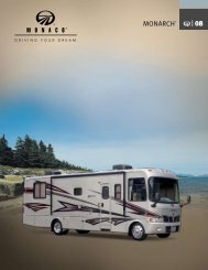 2008 Monarch Brochure - Rvguidebook.com