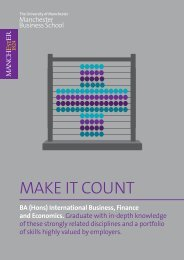 MAKE IT COUNT - contentlibrary