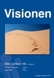 20th Century VIS Ab Seite 4 - Vis - ETH Zürich