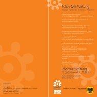 Infoveranstaltung Politik Mit-Wirkung - Cities of Migration