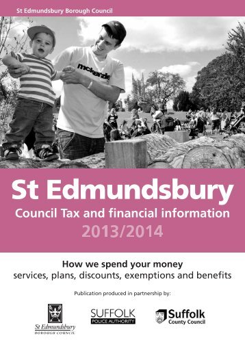 Who has to pay Council Tax? - St Edmundsbury Borough Council