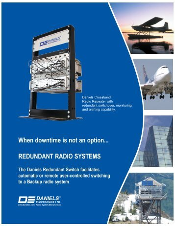 Redundant Radio Systems - Daniels Electronics