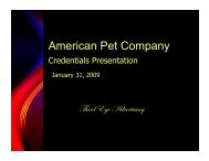 American Pet Company