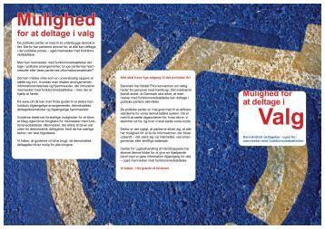 Link til folderen i pdf - Center for Ligebehandling af Handicappede