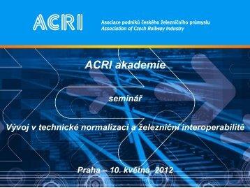 ACRI akademie 10.5. - Program (pdf)