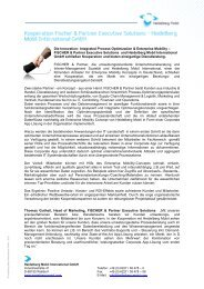 Die Innovation: Integrated Process Optimization & Enterprise Mobility